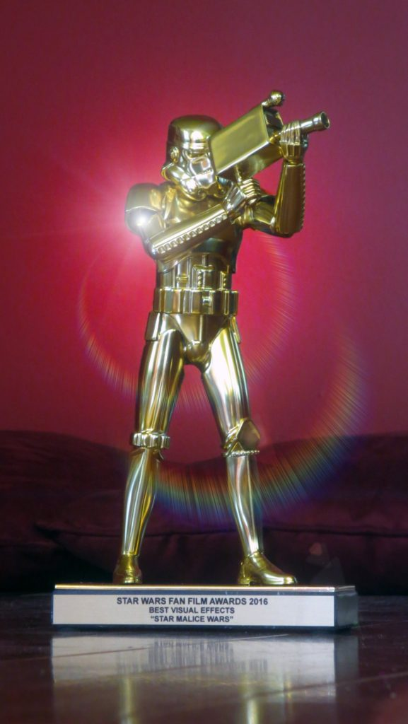 Star MALICE Wars Stormtrooper Trophy